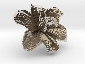 Lily Flower 1 Block - S2 in Platinum