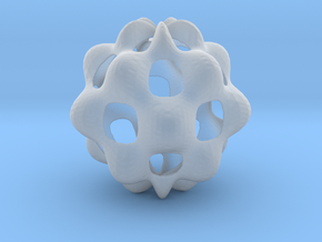 Oscillating spherical surface in Smooth Fine Detail Plastic