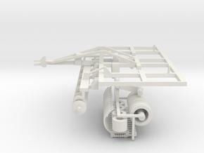 1/64 Disc Chisel 13 Shank 20ft model in White Natural Versatile Plastic