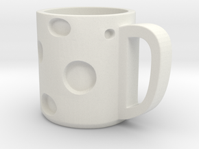 Sheese Cup in White Natural Versatile Plastic