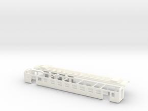 Packwagen Swissexpress SBB Scale TT 1/120 1-120 1: in White Processed Versatile Plastic