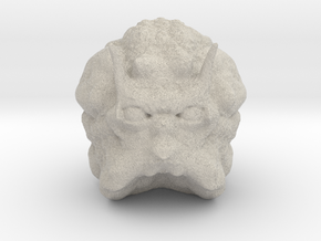 Space Critter in Natural Sandstone
