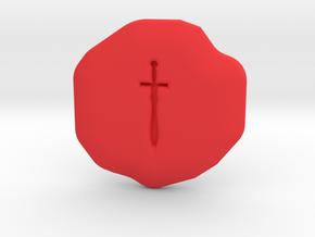 Valor Runestone in Red Processed Versatile Plastic