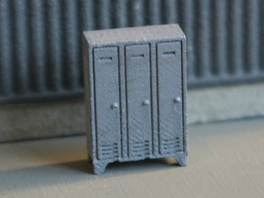 N Scale 5x Lockers in Frosted Ultra Detail