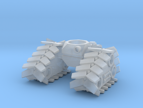 Treads/Tracks in Smooth Fine Detail Plastic