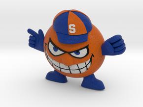 Syracuse Orange logo figurine in Full Color Sandstone
