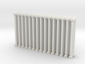 Florscent Light Single Tube Fixtures in White Natural Versatile Plastic