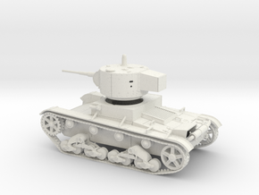 VBS Soviet light tank T26 1933 1:48 28mm wargames in White Natural Versatile Plastic