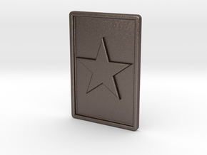 R-3 -RCSTAR in Polished Bronzed Silver Steel