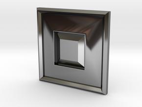 S-BASICCHAMX22 in Fine Detail Polished Silver