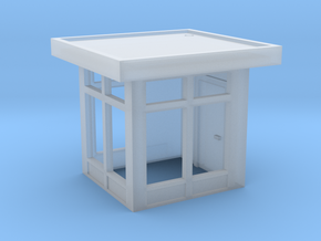 N Scale Guard House 1 in Smooth Fine Detail Plastic