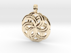 LIFE SPIRALS in 14K Yellow Gold