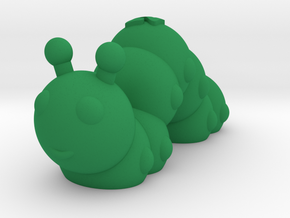 Caterpillar (Nikoss'Insects) in Green Processed Versatile Plastic