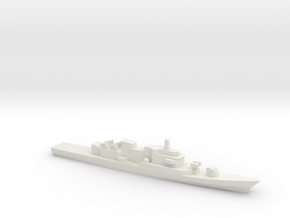 Maestrale-Class Frigate, 1/1800 in White Natural Versatile Plastic