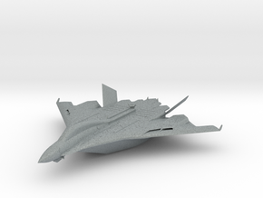 Flight aircraft carrier equipped with the Aegis in Polished Metallic Plastic