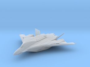 Flight aircraft carrier equipped with the Aegis in Smooth Fine Detail Plastic