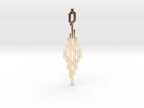 Pendant Sticks in 14k Gold Plated Brass