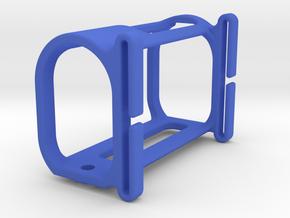 HDR-AZ1 Goggle Strap Mount in Blue Processed Versatile Plastic