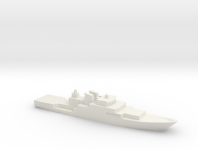 Haijing/CCG-1305 Patrol Ship, 1/2400 in White Natural Versatile Plastic