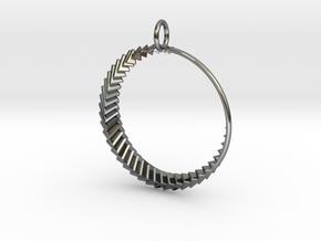Luna 2 Pendant in Premium Silver