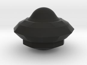 Ufo Gamma in Black Natural Versatile Plastic