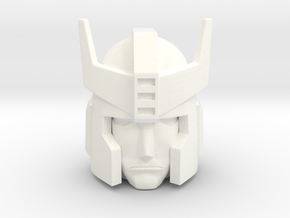 Prowl Head 18 mm in White Processed Versatile Plastic