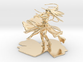 Dancing Girl  in 14k Gold Plated Brass