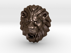 LION RING SIZE 9 1/4 in Polished Bronze Steel