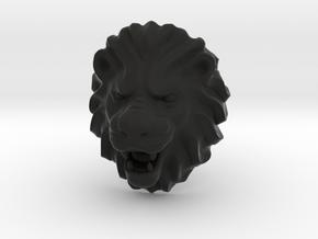 LION RING SIZE 9 1/4 in Black Natural Versatile Plastic