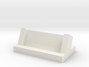 Generic Business Card Holder in White Strong & Flexible