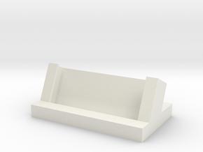 Generic Business Card Holder in White Natural Versatile Plastic