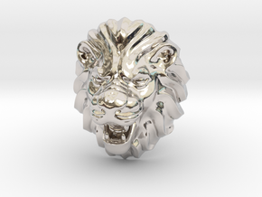 LION RING SIZE 9 1/4 in Platinum