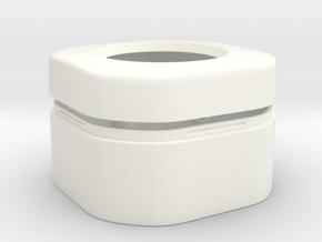 HC-SR501 Arduino Motion Sensor housing in White Processed Versatile Plastic