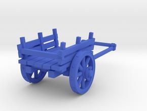2-wheel cart, 28mm in Blue Processed Versatile Plastic