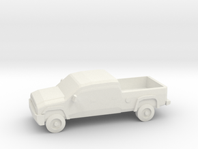 10mm (1/144) 2006 Chevy Silverado 2500 in White Natural Versatile Plastic