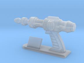 Futuristic Proton Pistol Miniature in Smooth Fine Detail Plastic