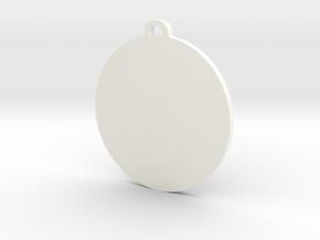 Pangea Pendant in White Processed Versatile Plastic