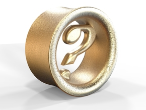 Mysterion (diam 8mm) in Polished Gold Steel