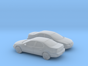 1/160 2X 1995-99 Dodge Stratus in Smooth Fine Detail Plastic