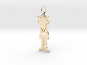 Yugi Pendant in 14k Gold Plated Brass