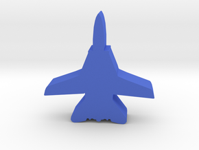 Game Piece, Blue Force Tomcat Fighter in Blue Processed Versatile Plastic