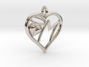 HEART M in Platinum