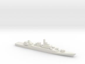 PLA[N] Type 053H3 Frigate w/ Barrels, 1/3000 in White Natural Versatile Plastic