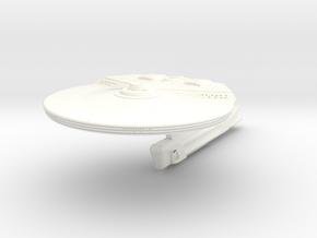 Durrett Class V Refit Cruiser in White Processed Versatile Plastic