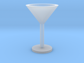Martini glass mini in Smooth Fine Detail Plastic