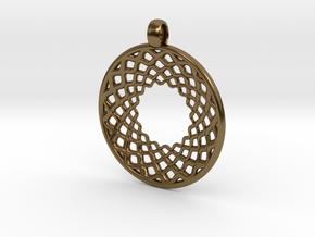 DreamCatcher in Polished Bronze