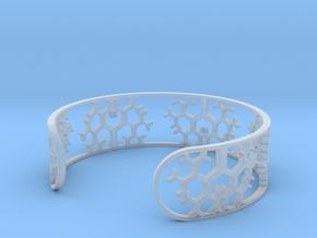 Geometric Tree Bracelet 7in (18cm) in Smooth Fine Detail Plastic