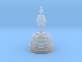 Fractality Chess - Bishop in Smooth Fine Detail Plastic