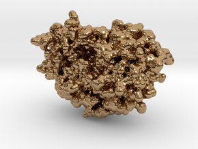 HIV-1 Protease in Polished Brass