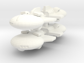Dragonfly 1-1000 Flight in White Processed Versatile Plastic